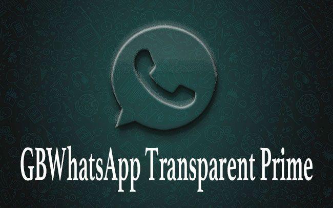 image GBWhatsApp Transparent Prime