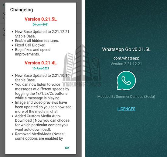 WhatsApp GO 0.21.5L
