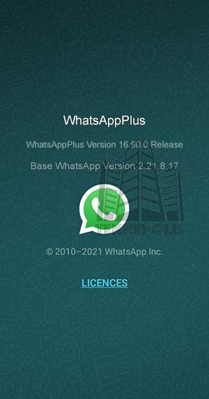 WhatsApp PLUS 16.90.0